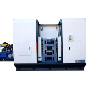 DN600閥門管件加工-全防護液壓多孔鉆床