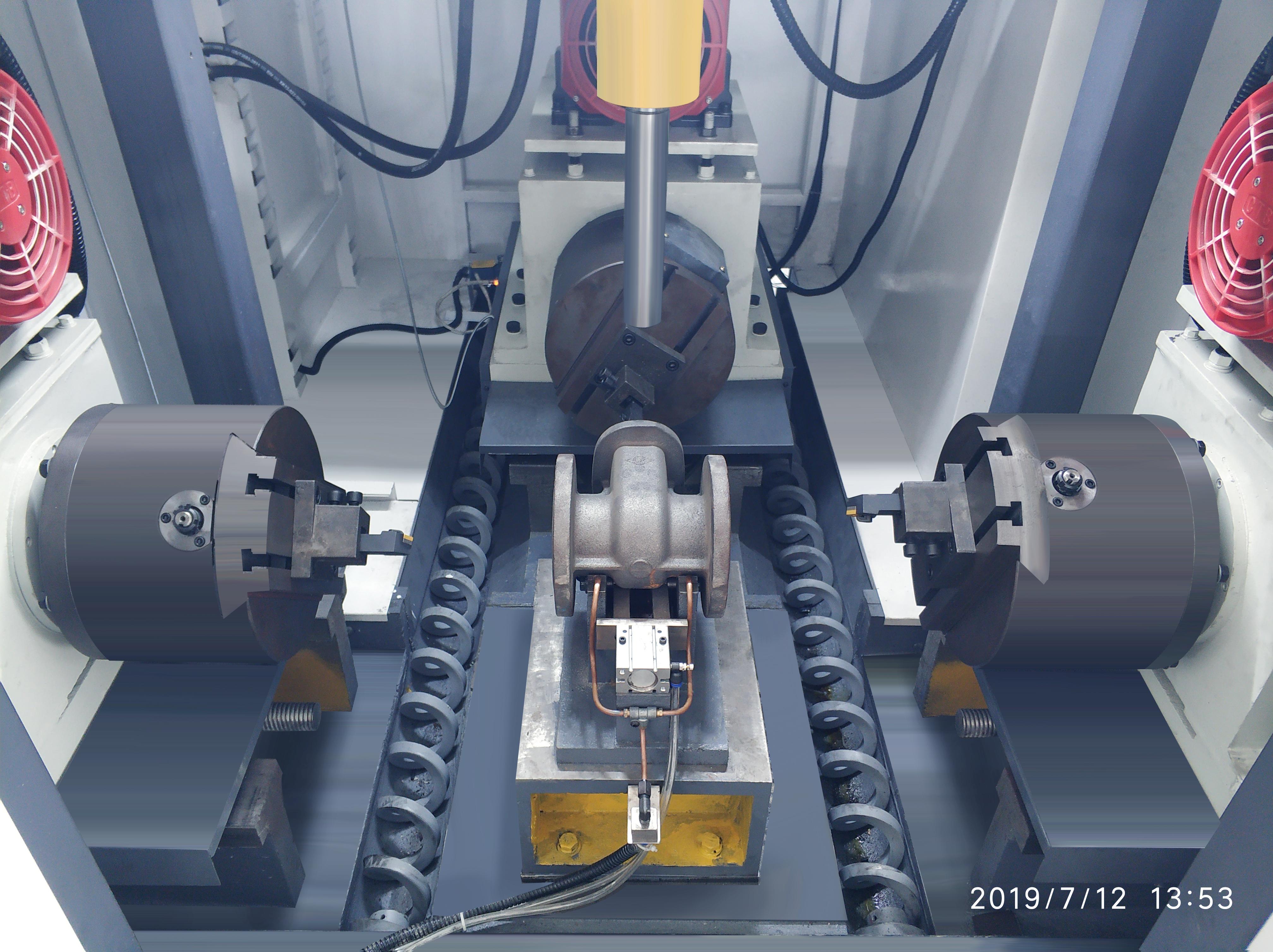 阀门管件加工数控机床 数控设备 三面车铣 镗削