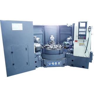 HD-6ZE全防護數控六工位組合機床蝶閥專用加工機床