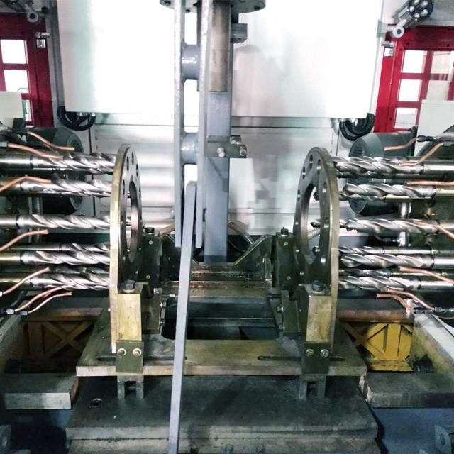 数控对钻 液压两面多孔钻床 法兰面自动打孔机